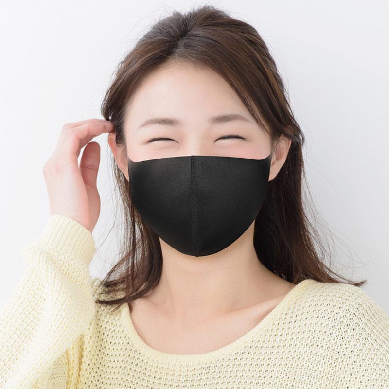 [샘플] 에이라인 마스크 43 베이직 블랙